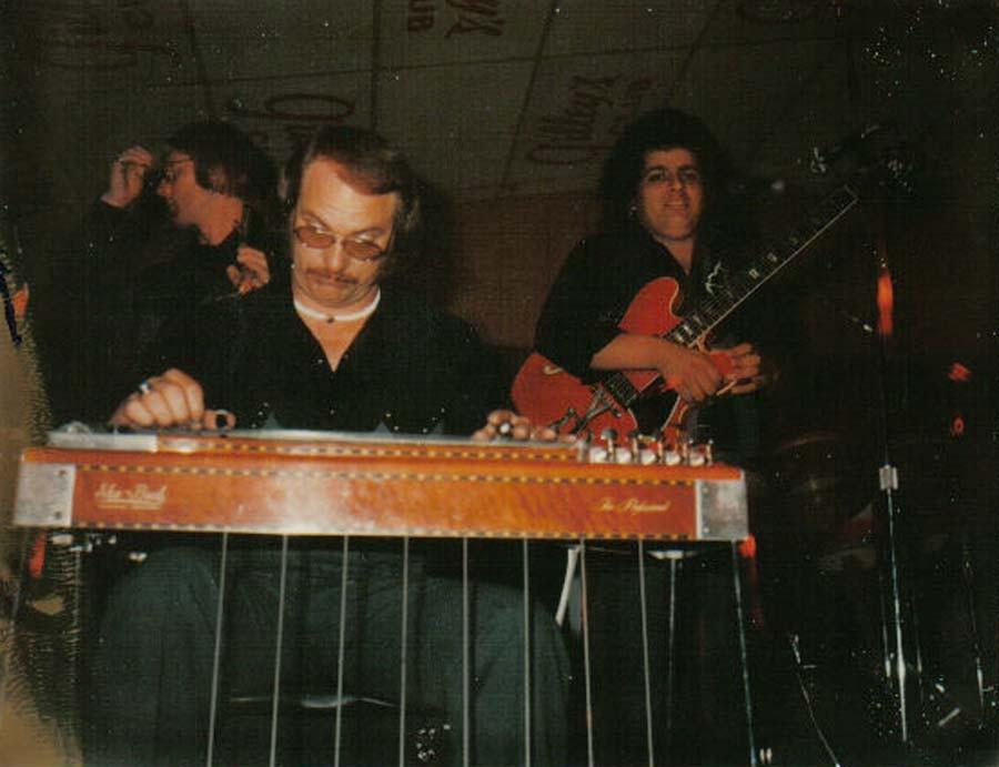 Steel Guitarist at Gilley's Club Pasadena, Texas